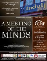 Harvard Black Alumni Society & CNF Present: A Meeting...