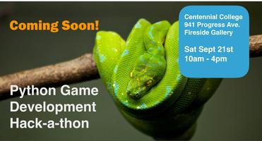 Python Gaming Hackathon Tickets, Sat, 21 Sep 2019 at 10:00