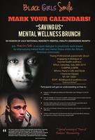 """""""Saving Us"""" Mental Wellness Brunch"""