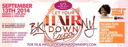 Hairfinity Presents: Let Your Hair Down EXPO! Fall...