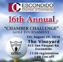 "Escondido, ""Chamber Challenge"" 16th Annual Golf..."