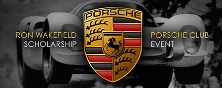 Ron Wakefield Scholarship Porsche Event