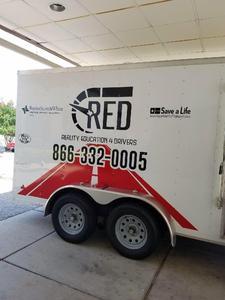 The RED Program  logo
