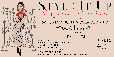 Style it up with Chloe Markham