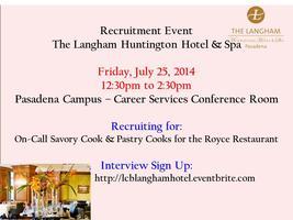 Langham Hotel Recruitment