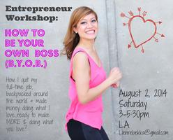 Entrepreneur Workshop: How To Make Money Doing What...