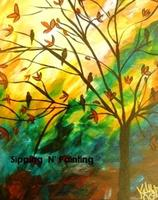 Sip n' Paint Evening Song Saturday, September 6th,...