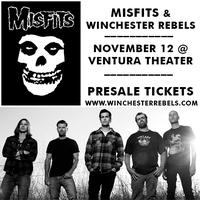Misfits & Winchester Rebels @ Ventura Theater, CA  Nov...