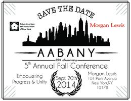 """2014 AABANY Fall Conference: """"Empowering Progress &..."""