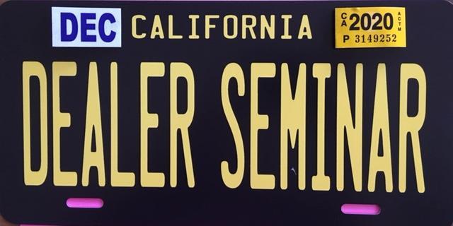 Dealer License 101 Hollywood