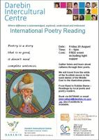 Intercultural Poetry Reading