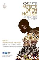 Kofi Arts Open Studio - part of Thornton Heath Arts...