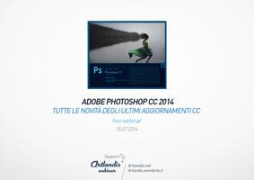 Photoshop CC 2014, tutte le novità (free webinar)