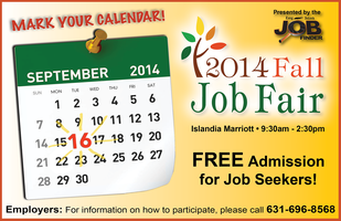 2014 Fall Job Fair hosted by L.I. Job Finder