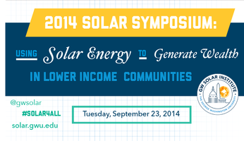 2014 Solar Symposium: Using Solar Energy to Generate...