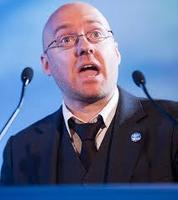 An audience with Patrick Harvie
