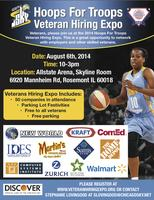 "Chicago Sky Hoops For Troops ""Veteran Hiring Expo"""