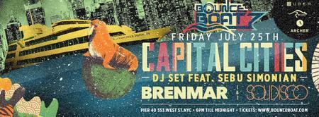 Bounce Boat ft. Capital Cities (DJ Set), Solidisco,...