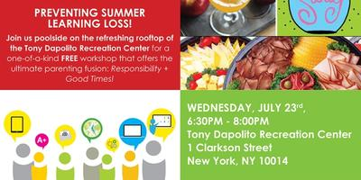 """""""Preventing Summer Learning Loss"""" Workshop, Soiree and..."""