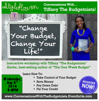 Conversations With Tiffany the Budgetnista!