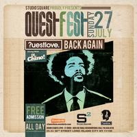 Questlove at Studio Square RAIN OR SHINE