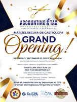 Accounting & Tax Professionals Grand Opening Tickets, Sat