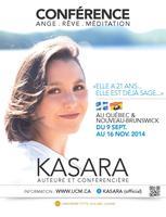 CONFÉRENCE, Sherbrooke, Québec 2014 - avec Kasara