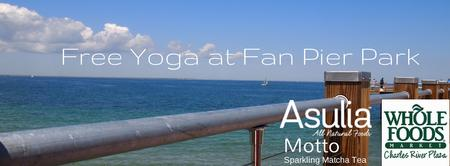 Free Yoga at Fan Pier Park