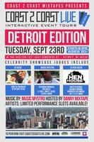 Coast 2 Coast LIVE |  Detroit Edition 9/23/14
