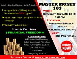 Mastering Money 101 Tickets, Sat, Sep 28, 2019 at 1:00 PM