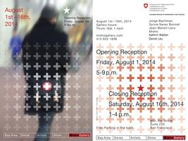 Bay Area Swiss Artists Show Opening Reception