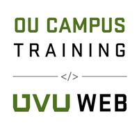 OU Campus Basics Training - August 6