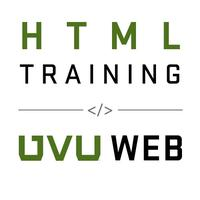 HTML Basics Training - August 13