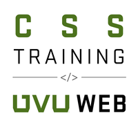 CSS Basics Training - August 13