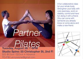 Partner Pilates with Barbi Powers and Lenny Reisner