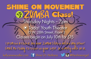 Shine On Movement Zumba Class