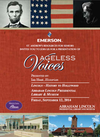 Ageless Voices : Lincoln - History to Hollywood