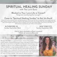 Spiritual Healing Sunday with The Love Guru in New York City