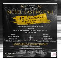Journey into Matrimony Model Casting Call #2 Registration