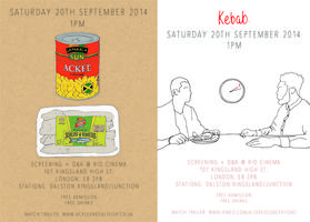 'Ackee & Saltfish' & 'Kebab' Screening @ RIO CINEMA...