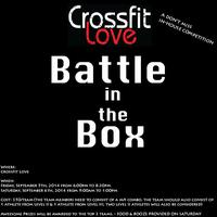 "CrossFit Love's ""Battle in the Box"""