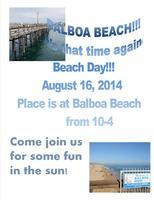 KW Rancho Beach Day 2014 - Balboa Beach Pier Park