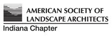 Indiana Chapter of the American Society of Landscape Architects logo