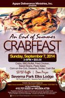 An End of Summer Crabfeast