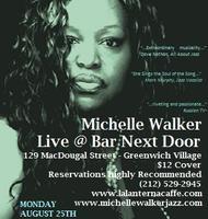 Jazz Vocalist Michelle Walker Sings at Bar Next Door in...