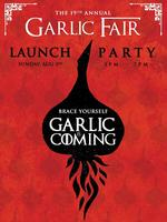 Garlic Fair Launch Party