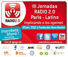 III Jornadas Radio 2.0 Paris-Latino 2012 @ Fundación...