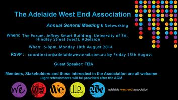 Adelaide West End Association Annual General Meeting