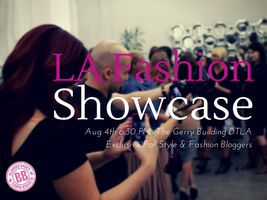 LA Fashion Showcase Exclusive For Bloggers