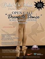 """""""Open Call"""" Dance Scholarship Auditions 2015 - 2016 -..."""